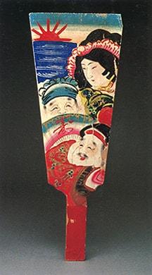 栃木の郷土羽子板