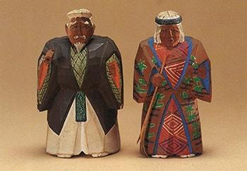 奈良人形「高砂」