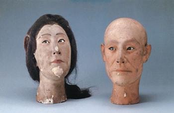 菊人形の頭
