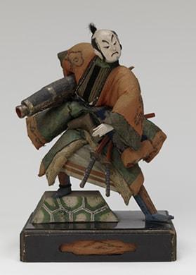竹田人形「真田張貫筒」