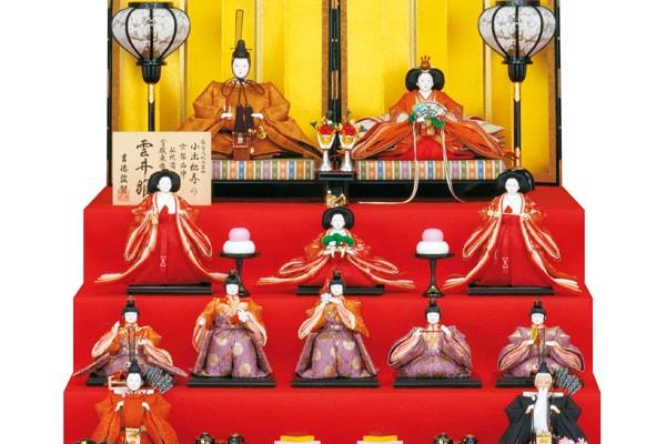 雛人形の飾り方と並べ方